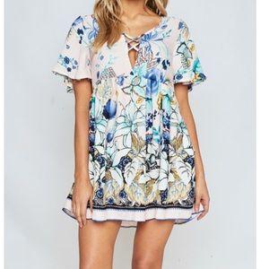 Dresses & Skirts - Lace Up Babydoll Tunic/Dress